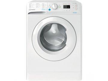 Bokem plněná pračka Indesit BWSA 61251W EE N 6kg 1200 ot.