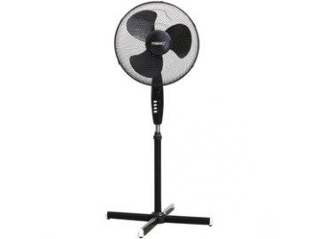 Stojanový ventilátor Maxxo PP 40B průměr 40cm, oscilace černý