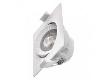 Vestavné bodové podhledové LED světlo Emos ZD3570 čtverec 7W 3000K