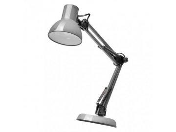 Stolní lampa Lucas Z7609G stříbrná