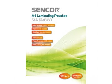 Laminovací fólie Sencor SLA FA4B150