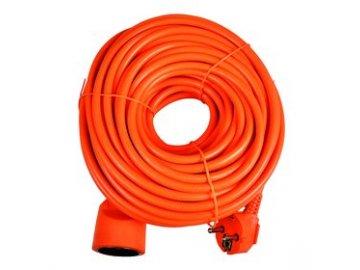 Prodlužka Sencor SPC 47 30m/01 oranžová 3x 1,5 mm