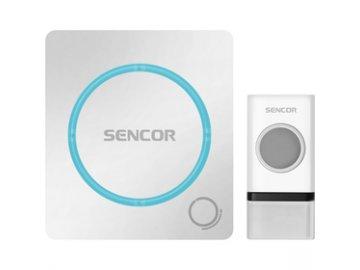 Bezdrátový zvonek Sencor SWD 110 napájení ze sítě dosah až 150m