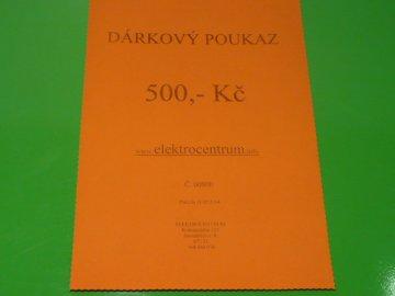 Dárkový poukaz 500,- Kč