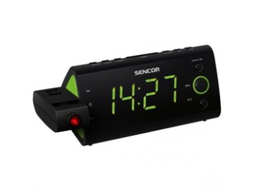 Radiobudík s promítáním Sencor SRC 330GN zelený /projekční/