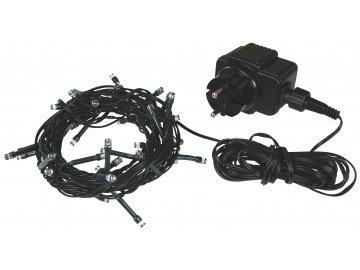 Vánoční řetěz 128 LED diod 6,4m 8 funkcí ZY1001