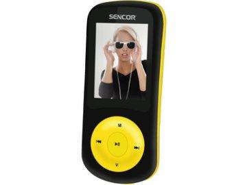 MP4 přehrávač Sencor SFP 5870 BYL 8GB žlutý .