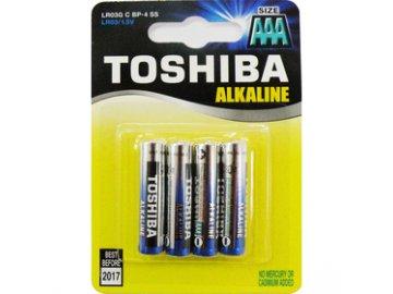 Baterie mikrotužková AAA LR03 alkalická