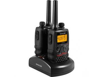 Vysílačky Sencor SMR 600 TWIN 8 km radiostanice  DOPRAVA ZDARMA