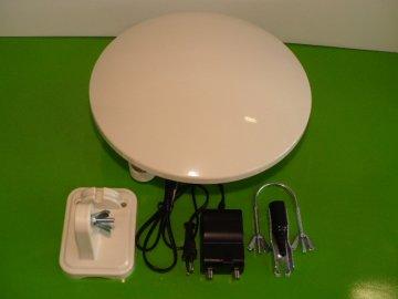 Venkovní kruhová všesměrová DVB-T anténa BEN 9016C /talíř/ HD na střechu nebo karavan s LTE filtrem