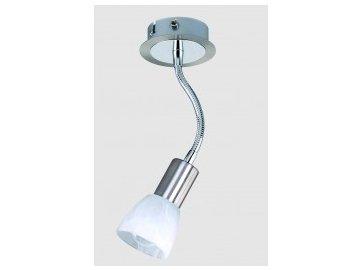 Bodové svítidlo Briloner 2726/012F E14 na zeď s vestavěným vypínačem