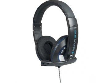 Uzavřená sluchátka s mikrofonem Sencor SEP 629