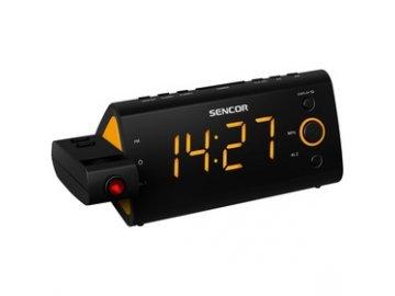 Radiobudík s promítáním Sencor SRC 330 OR oranžový /projekční/