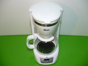 Kávovar Bravo B-4463 Ginno bílý 900W 10 šálků displej  DOPRAVA ZDARMA