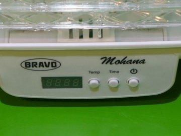 Sušička ovoce Bravo B-4465 Mohana s termostatem 8 plat  DOPRAVA ZDARMA
