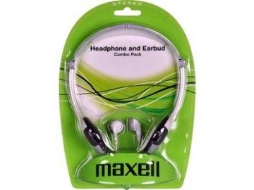Sada dvou sluchátek Maxell Combo Pack HPC2
