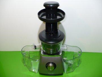 Šnekový odšťavňovač Sencor SSJ 4041 BK stříbrný 400W - lis na ovoce  DOPRAVA ZDARMA