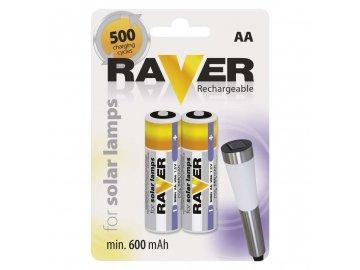 Nabíjecí baterie /akumulátor/ tužkový AA LR06 Ni-MH pro solární lampy