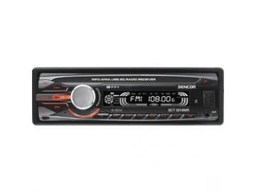 Autorádio Sencor SCT 3018MR USB/SD/MMC 4x40W dálkový ovladač, displej s posuvným textem