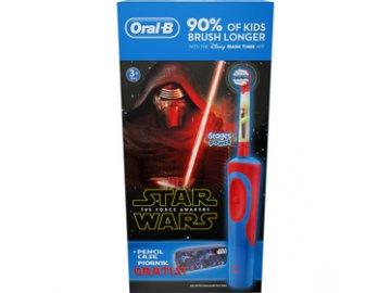 Dětský zubní kartáček VITALITY STAR WARS ORAL B + školní penál