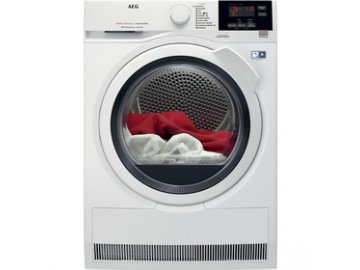 Kondenzační sušička prádla AEG T 8DBG48WC s tepelným čerpadlem A++ 8kg  DOPRAVA ZDARMA