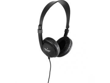 Uzavřená sluchátka Sencor SEP 275BK přes hlavu