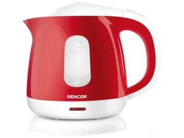 Rychlovarná konvice Sencor SWK 1014RD červená 1 litr