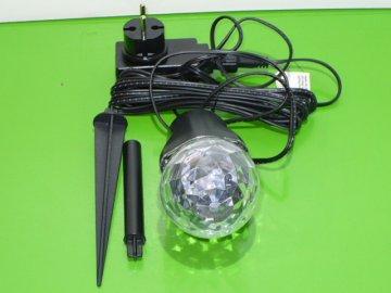 Vánoční osvětlení - LED projektor s efektem vodních vln na dům Retlux RXL 292  DOPRAVA ZDARMA