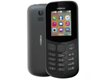 Mobilní telefon Nokia 130 Dual Sim Black 2017
