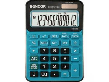 Stolní kalkulačka Sencor SEC 372T/BU pro prodejny, kanceláře