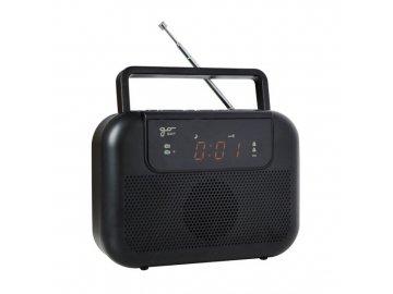 Rádio GoSAT M10 s hodinami a budíkem