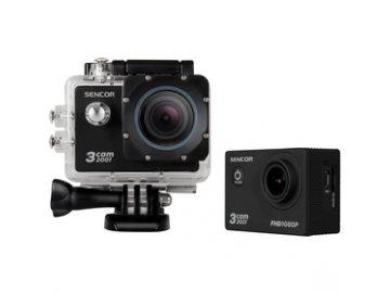 Vodotěsná outdoorová akční videokamera Sencor 3CAM 2001 FULL HD odolná