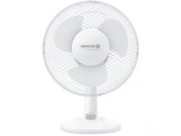 Stolní ventilátor Sencor SFE 2327WH
