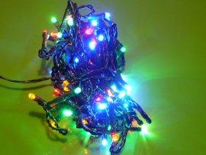 Vánoční sada řetěz 80 LED 8m barevný color ZY0812