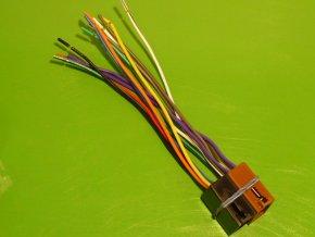 Kabel k autorádiu vidlice /vestavěná v autorádiu/ ISO