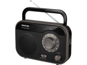 Radiopřijímač Sencor SRD 210 B černý