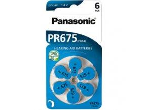 Baterie pro naslouchadla Panasonic PR67 /Varta Auditas/ 675 PR44