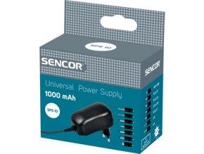 Univerzální napájecí zdroj /trafo/ Sencor SPS 10 1000mA