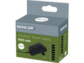 Univerzální napájecí zdroj /trafo/ Sencor SPS 15 1500mA