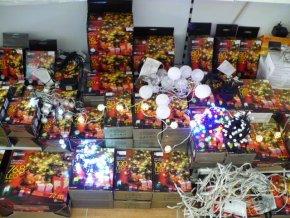 Vánoční osvětlení 40 LED 4m teplá bílá ZY1701
