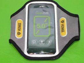 """Sportovní pouzdro /kapsa/ na paži na mobil Armband Yenkee YBM A505XL z Lycry až 5,2"""""""