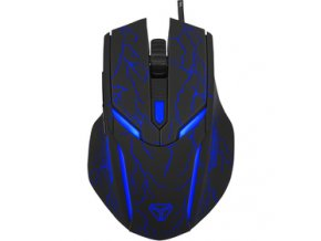 Herní podsvícená drátová myš Yenkee Ambush YMS 3017 USB  podsvícená 3 barvy