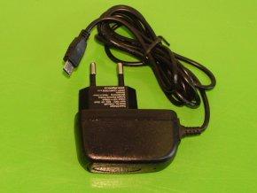 Nabíječka na mobilní telefon mikro /micro/ USB 5V 500mA