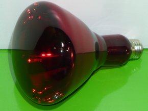 Topná /infra/ žárovka Helios 250W E27 pro domácí zvířata