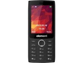 """Mobilní telefon Element P030 Dual SIM fotoaparát mikroSD 2,8"""" TFT velký displej  DOPRAVA ZDARMA"""