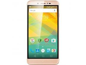 """Mobilní telefon Prestigio Grace Z5 Dual Sim zlatý 5,3"""" Android 6.0  DOPRAVA ZDARMA"""