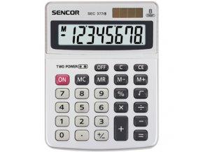 Stolní kalkulačka Sencor SEC 377/8 DUAL pro prodejny, kanceláře