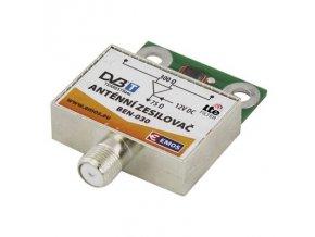 Anténní zesilovač pro širokopásmové síťové antény Emos BEN-030 30 dB VHF/UHF