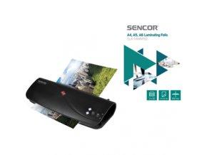 Laminovačka Sencor SLA 220 A4 + fólie SLA FAMM150 SADA