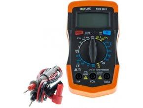 Digitální multimetr RETLUX RDM 3001 s prozváněčkou
